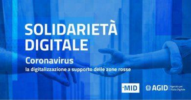 Coronavirus: solidarietà digitale